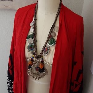 Jewelry - Vintage/Antique Boho Coin Necklace